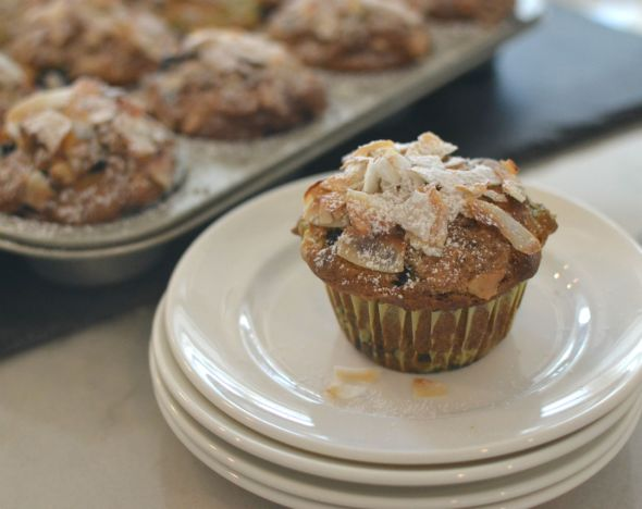 Triple Coconut Breakfast Muffins