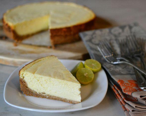 Key Lime Ricotta Cheesecake