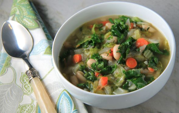 White Bean Escarole Soup