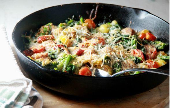 Broccoli Rabe Sausage Bake