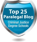 This blog awarded Top 25 25 Paralegal Blog