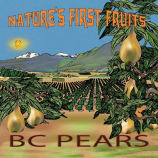 BC Pears digital art available in various sizes square