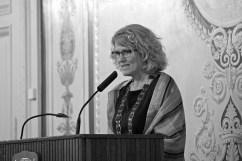 Kommunfullmäktiges ordförande Lena Malm.
