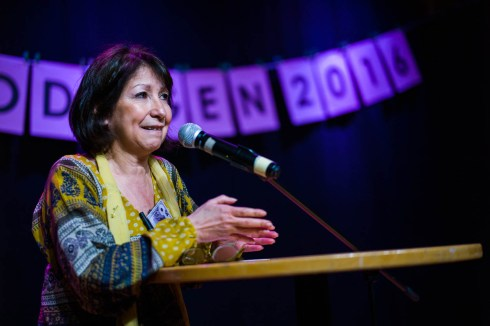 Gloria Esteban, kulturarbetare.