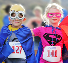 Super Hero Obstacle Run
