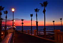 Oceanside CA pier by Sharon