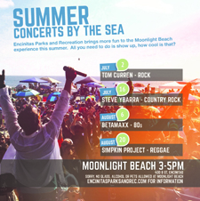 Summer Concerts by the Sea
