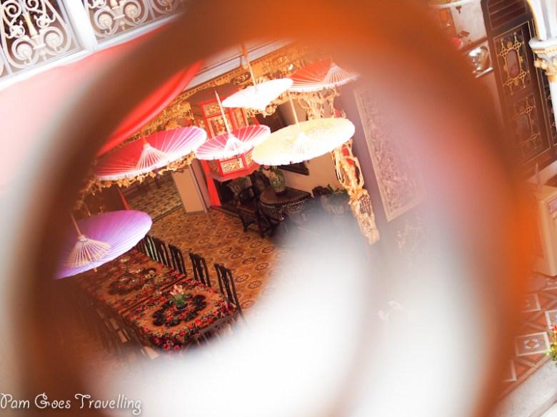 Peeping into Peranakan house