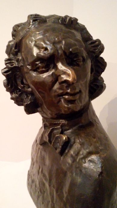 Henri Gaudier-Brzesker Portrait of Alfred Wolmark