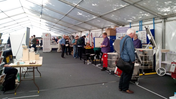 Trade Tent ICF 2017