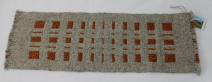 Autumn squares runner