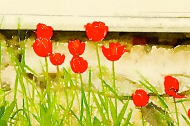 Preset Style = Travelogue Format = Medium Format Margin = None Format Border = Straight Drawing = #2 Pencil Drawing Weight = Heavy Drawing Detail = Medium Paint = Natural Paint Lightness = Normal Paint Intensity = More Water = Orange Juice Water Edges = Medium Water Bleed = Average Brush = Fine Detail Brush Focus = Everything Brush Spacing = Medium Paper = Buff Paper Texture = Medium Paper Shading = Medium