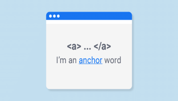 What is anchor text?