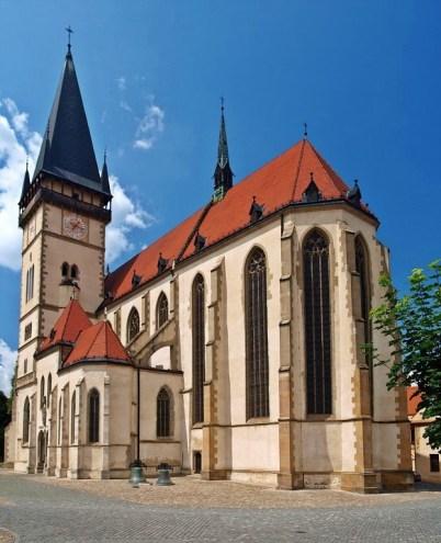 Bazilika sv. Egídia - Bardejov