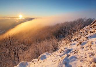bradlá Považský Inovec - zimná sezóna