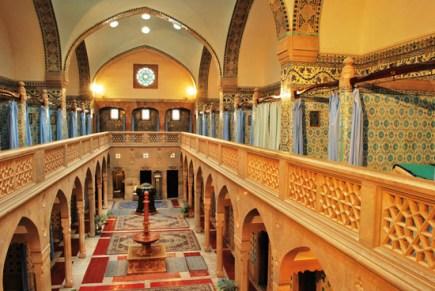 Hammam - interiér