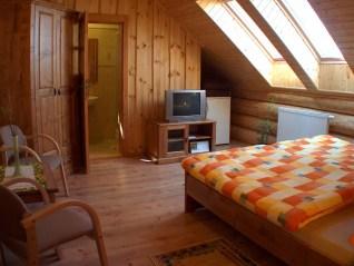 Ranč Podlesok - izba