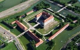 letecký náhľad na Holíčsky hrad