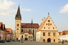 Radničné námestie - Bardejov