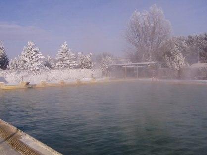 zimná sezóna - Termálne kúpalisko Vrbov