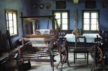 Tkáčska dielňa v múzeu