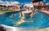 menší plavecký bazén Bešeňová