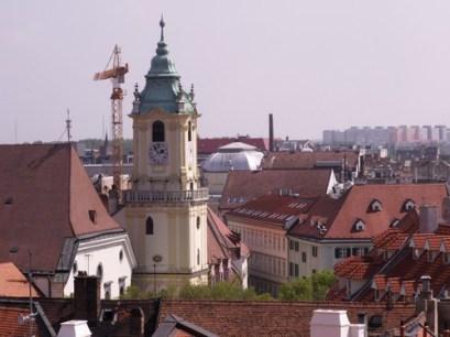 výhľad z Michalskej veže