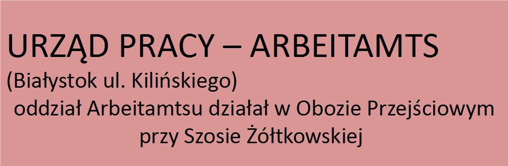Urząd Pracy - Arbeitamts