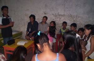 Bible listening group A