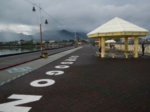 After the Sirangan Kids Time, we walked around the pier of Sorsogon City, which is sort of a public plaza.