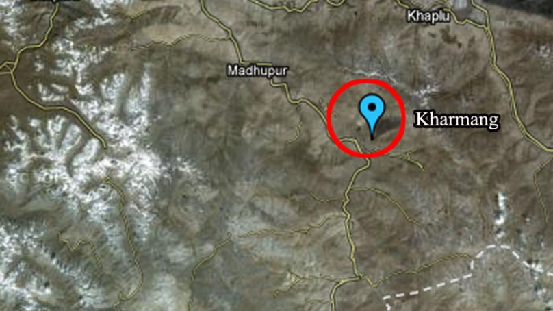 Kharmang: People march towards Kargil, demand opening of road and punishment for terrorists