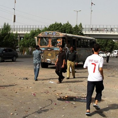 Karachi: Two GBians killed in bomb blast, three injured