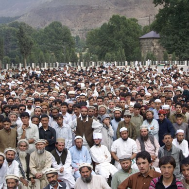Peaceful anti-video protests held in Chitral