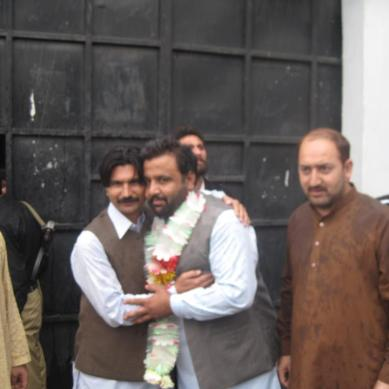 BABA JAN RELEASED FROM GILGIT JAIL