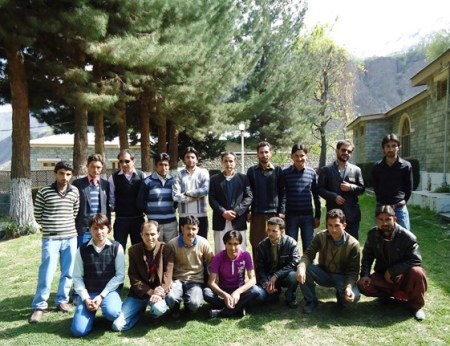 Officials of the Ghizer Youth Forum