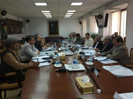 Lahore: Training in progress. GB was represented by Chief Secretary Sajad Hottiana