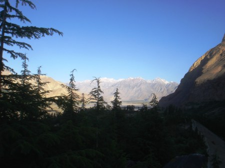 Skardu Valley viewed from Lower Kachura Lake