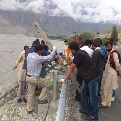 Erosion threatens Passu settlement, KKH