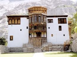 The renovated Khapulu Fort: