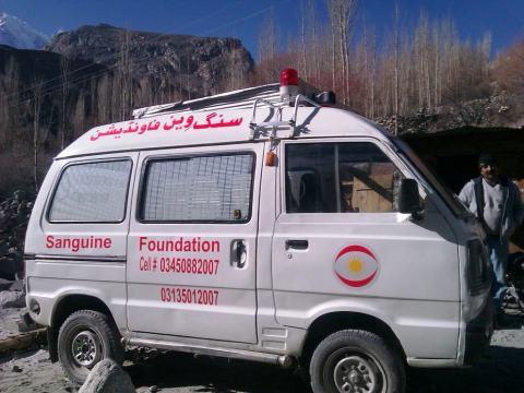 The Gojal Valley has been faced with severe lack of health facilities. Photo: Faiz Ullah Faizi