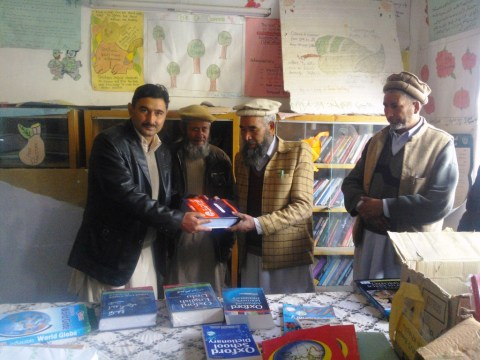 Many schools throughout Gilgit-Baltsitan are without basic teaching aid materials