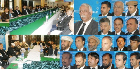 Gilgit: A large number of lawyers from district bar council and other bodies of the legal fraternity attended the convention today. Photo: Mon Shireen