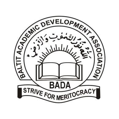 Engineer Sher Karim appointed President of Baltit Academic Development Association (BADA)
