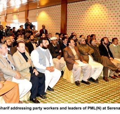 Gilgit: Nawaz Sharif says work on Bonji Dam will be started soon