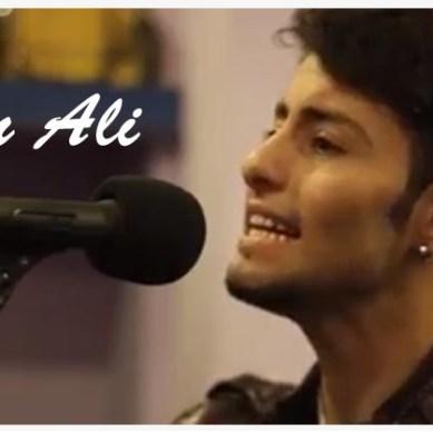 """Irfan Ali performing """"May to Teri yaan"""""""