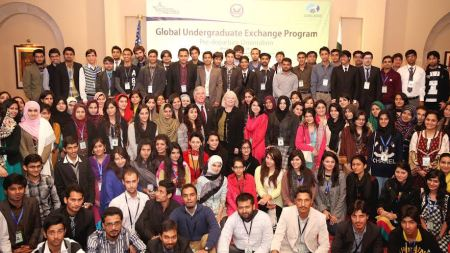 Group photo of the students
