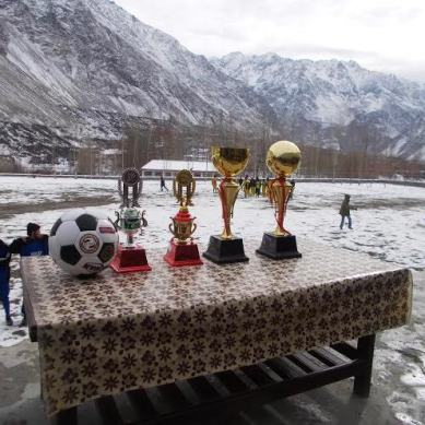 Football in the snow: Gojal Champions League concluded