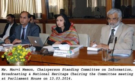 Standing committee meeting 13_03_2014