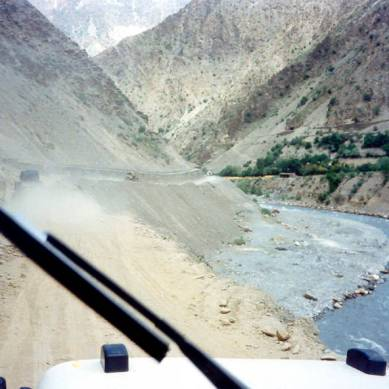 Chitral: Four people including driver killed in road accident