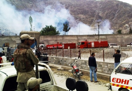 The Central Jail in Gilgit has seen violence many a time